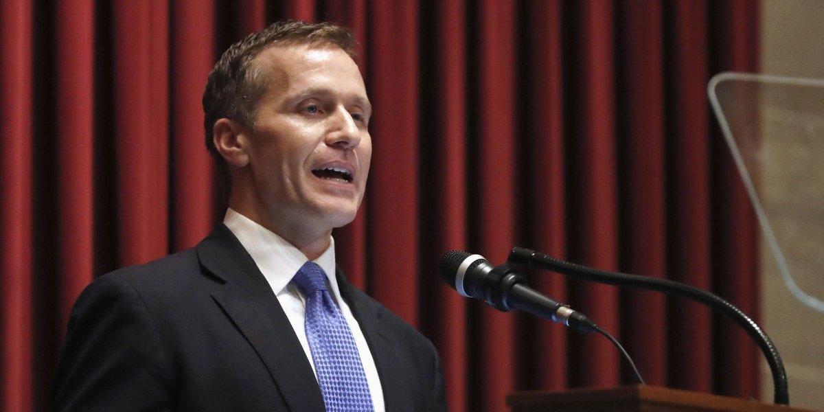 Gobernador de Missouri reconoce ser infiel