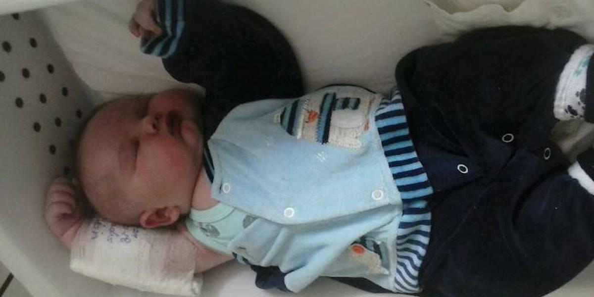 Bebê com mais de 6 quilos nasce em Santa Catarina