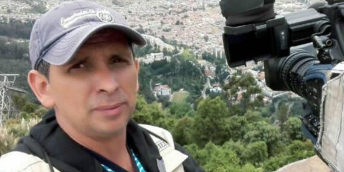 Camarógrafo de noticiero muere atropellado mientras trabajaba