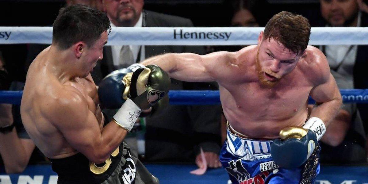 'Canelo' Álvarez acepta pelea de revancha con Golovkin