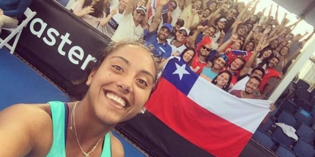 Daniela Seguel debutó ganando en la qualy del Abierto de Australia