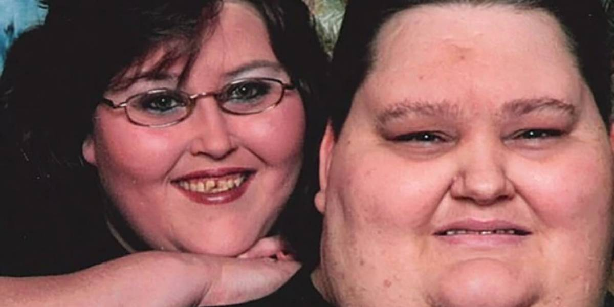 Pareja cumple sueño de tener intimidad después de bajar ¡260 kilos!