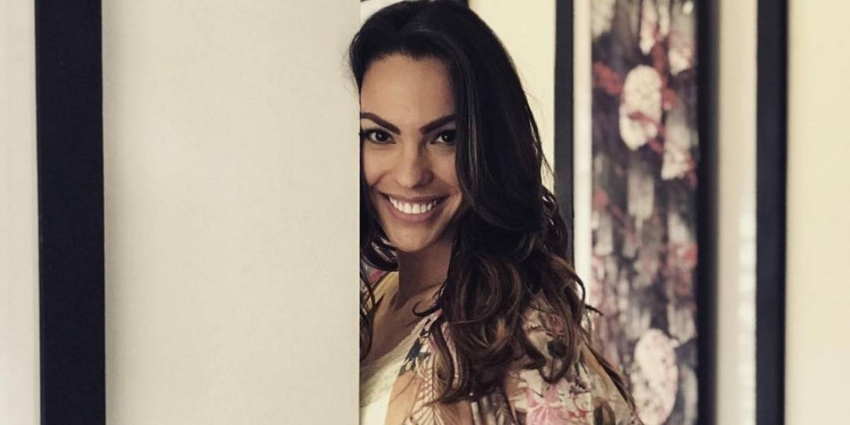 ¡Eileen Roca compartió fotos de su embarazo en redes sociales!