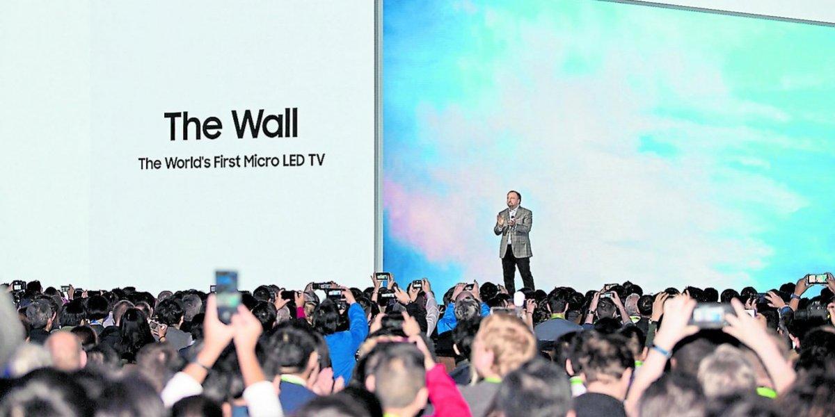 Metro en CES 2018 Las Vegas: tecnología de pared a pared