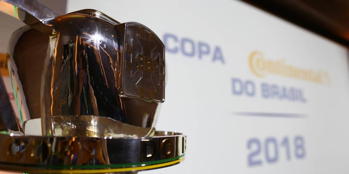 Confrontos das quartas da Copa do Brasil já estão definidos