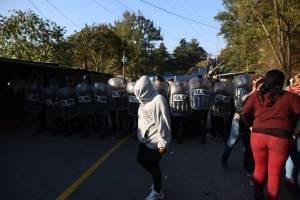 Disturbios en el Preventivo de la zona 18