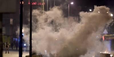 Disturbios en Túnez