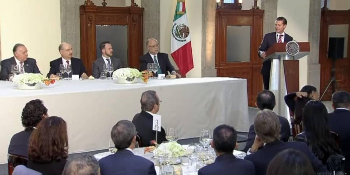 México mantendrá una postura constructiva en la renegociación del TLCAN: Peña Nieto