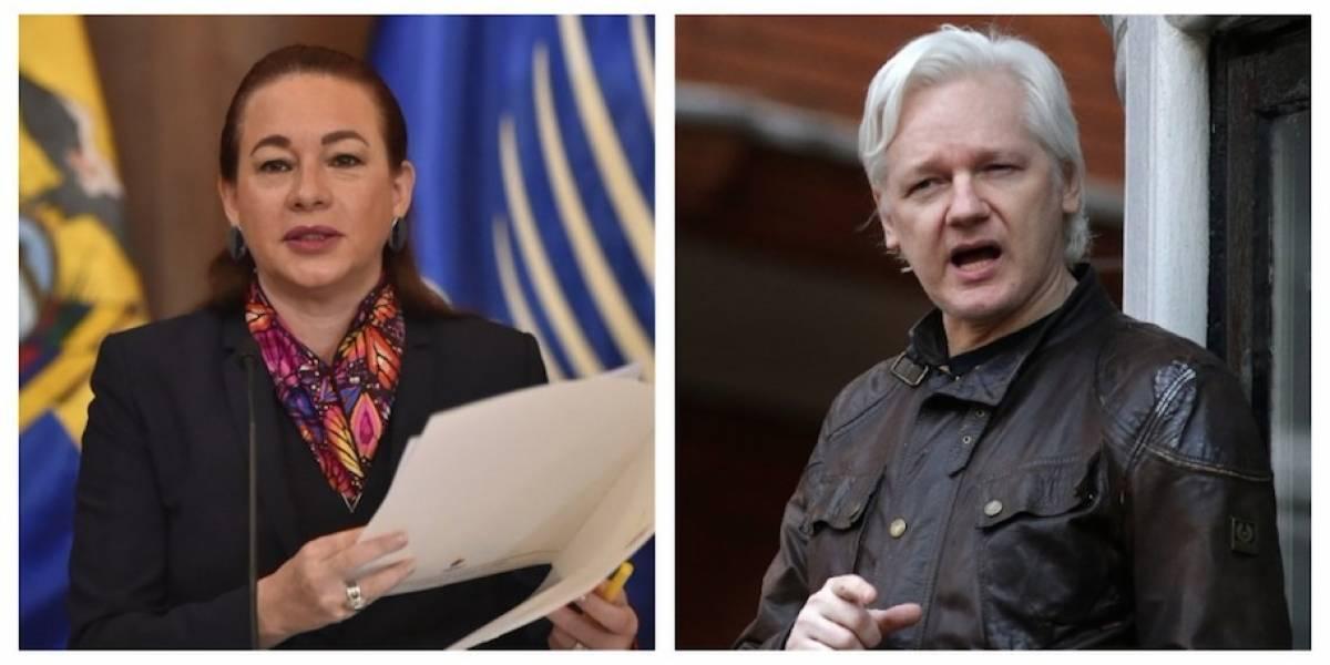 Gobierno de Ecuador confirma que otorgó ciudadanía a Julian Assange