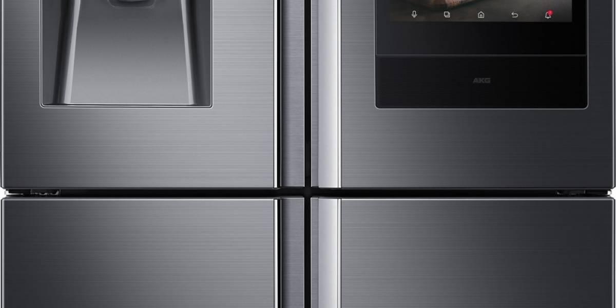 Samsung Electronics presenta nueva generación de refrigeradores Family Hub en CES 2018