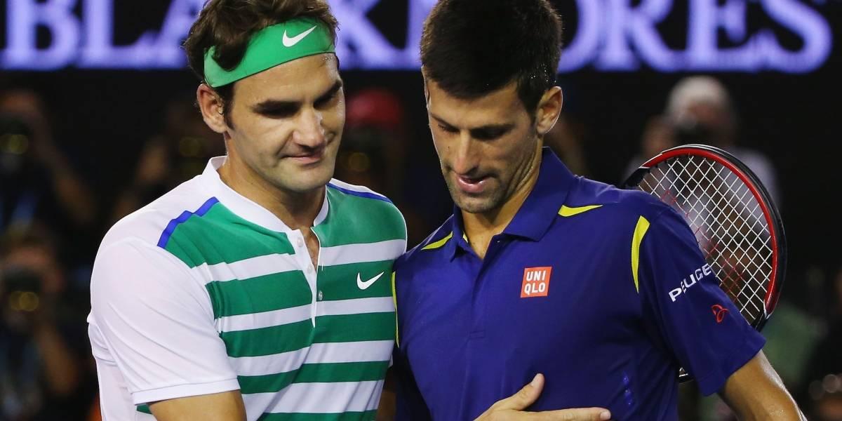 Sorteo de Australia Open evita final entre Djokovic y Federer