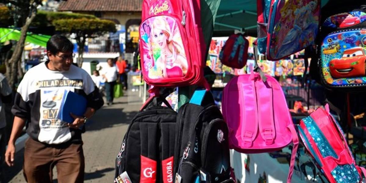 Anuncian ferias escolares donde se podrán adquirir productos para el inicio de clases