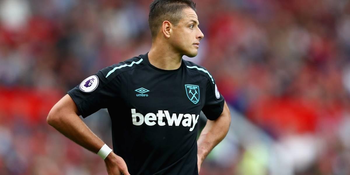 West Ham está dispuesto a dejar libre a 'Chicharito'