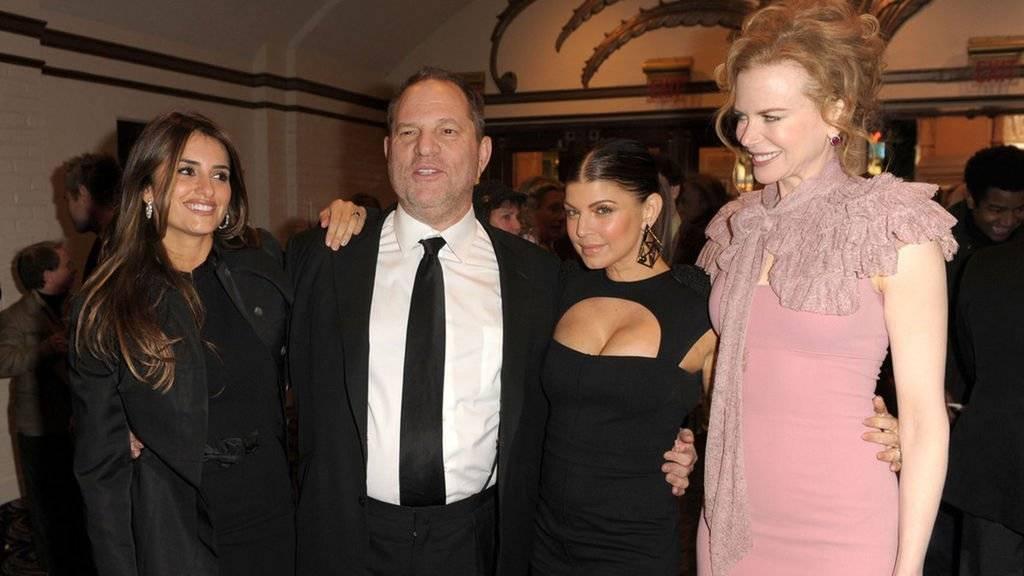 Penélope Cruz, Harvey Weinstein, Fergie y Nicole Kidman