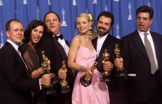 Harvey Weinstein, ganador del Oscar