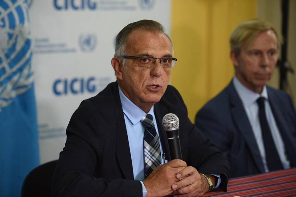 Iván Velásquez, jefe de CICIG