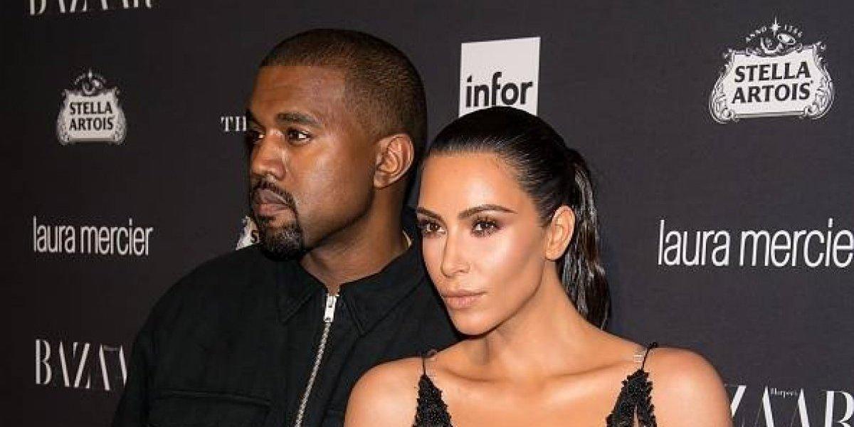 Kim Kardashian y Kanye West están a días de convertirse en padres por tercera vez
