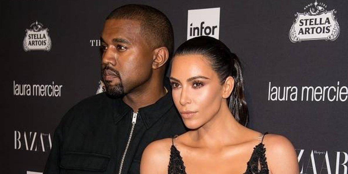 FOTOS. Kim Kardashian y Kanye West se muestran subidos de tono en un balcón
