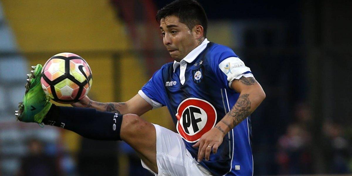 """César Valenzuela se ilusiona con la U: """"Tengo ganas de llegar a un equipo grande, ojalá se pueda dar"""""""