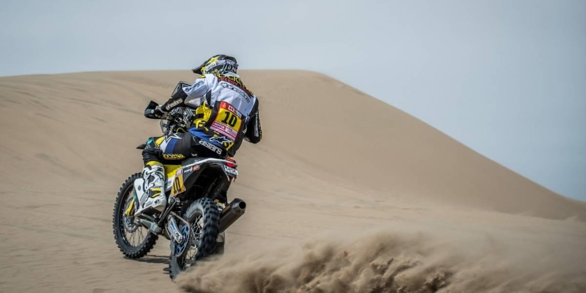 Quintanilla comenzó su lucha en Bolivia para remontar posiciones en el Dakar