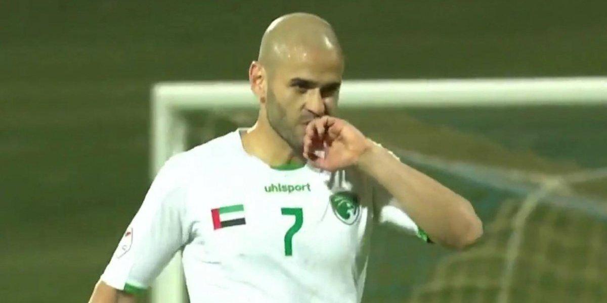 Sebastián Sáez anota un golazo en Emiratos y sigue pujando por llegar a la UC