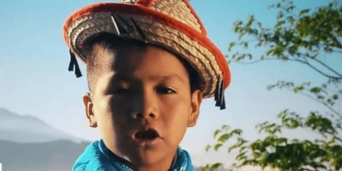 ¿Quién es el niño detrás del 'Movimiento Naranja'?