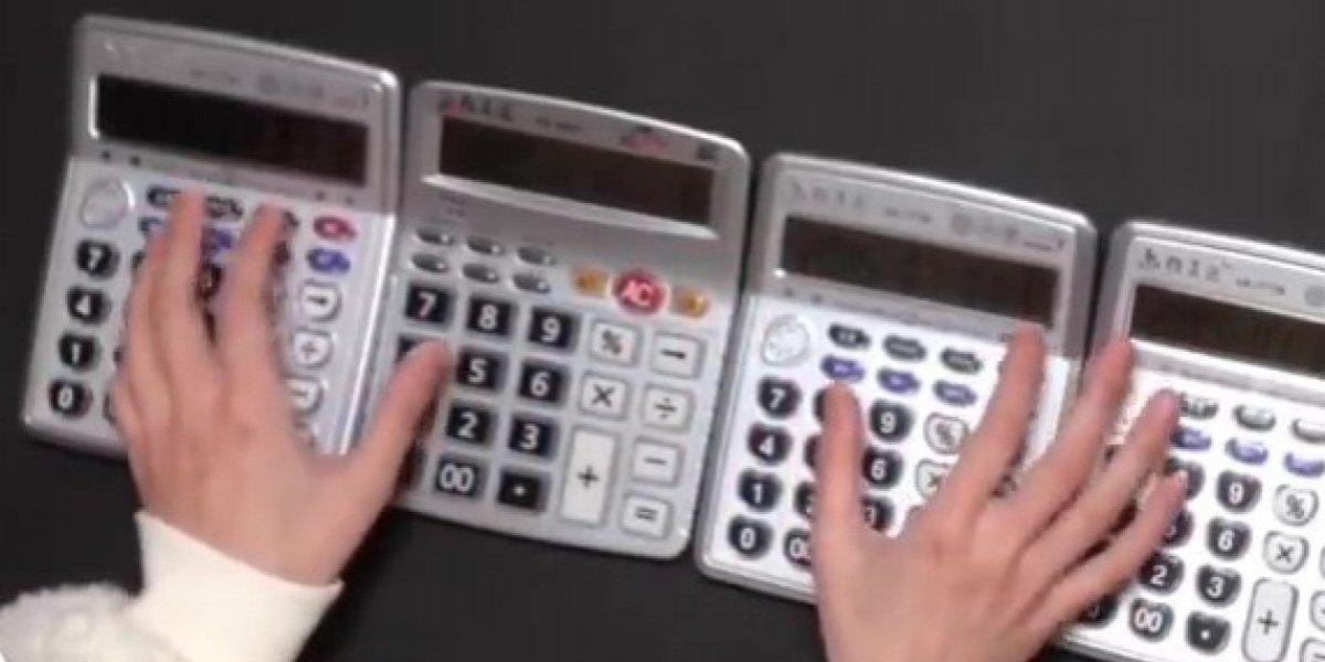 Recrean música de Game of Thrones ¡con calculadoras!