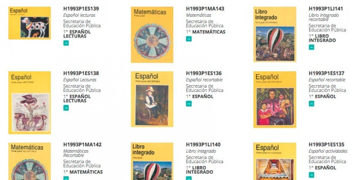 Todos los libros de texto de tu infancia en esta página de la nostalgia
