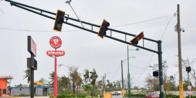 semáforos tras María