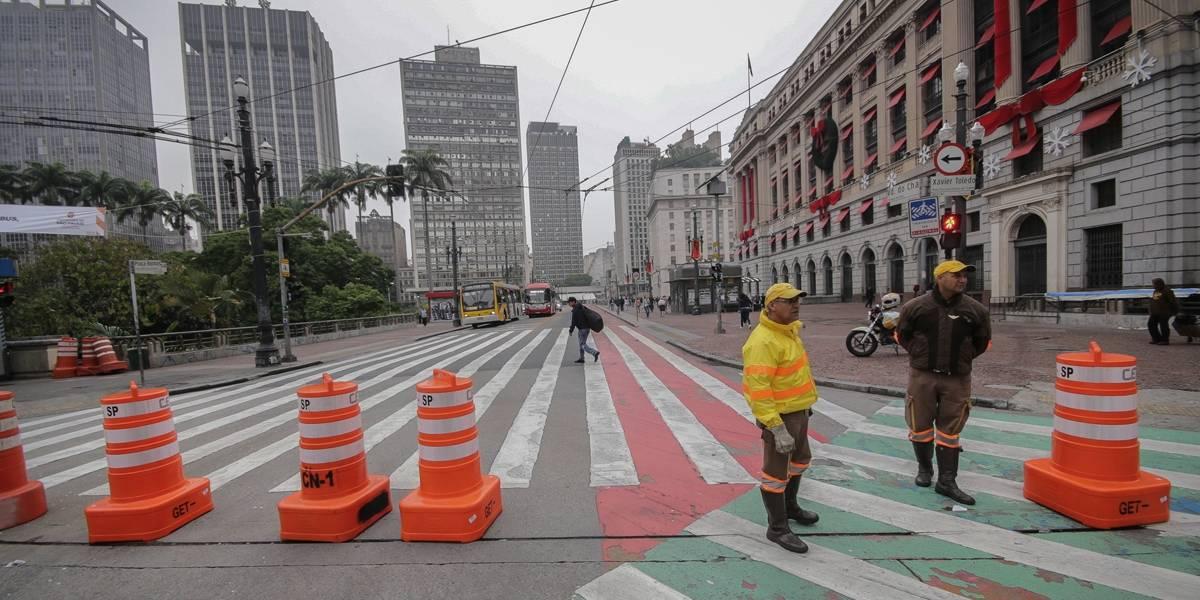 São Paulo bloqueia ruas do centro para carros e motos nesta sexta-feira; veja os desvios