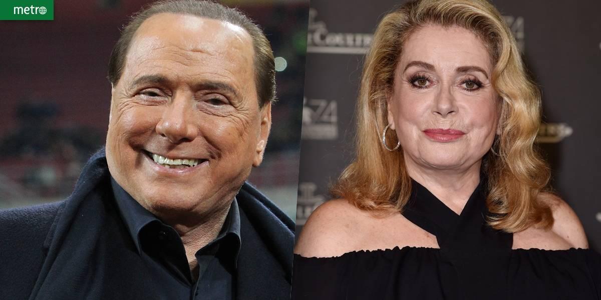 Berlusconi sai em defesa de Catherine Deneuve: 'disse coisas santas'