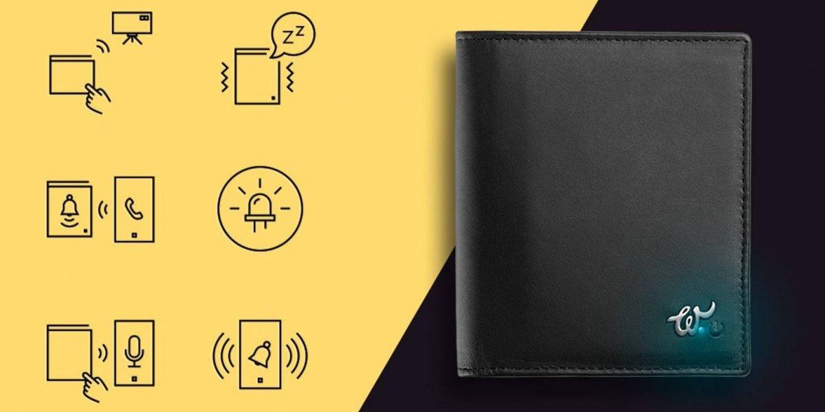 Esta billetera inteligente puede salvarte de los ladrones