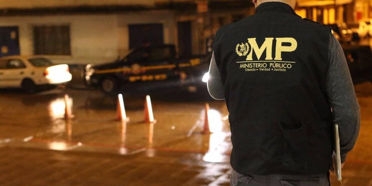 Ministerio Público y PNC realizan operativo contra extorsiones