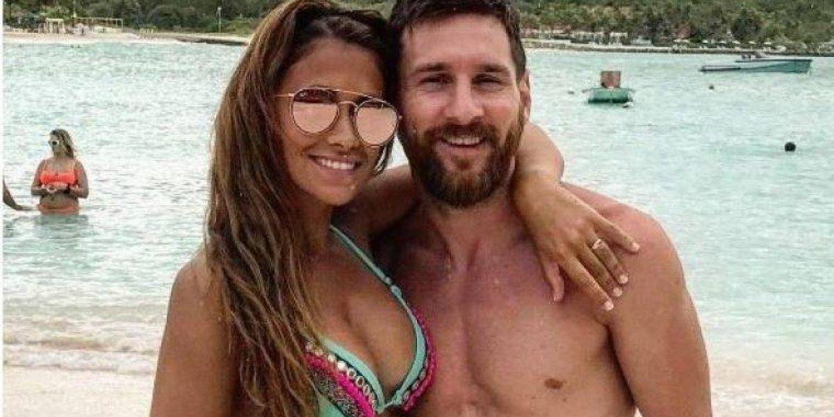 Messi fotografió a Antonela pero ella tuvo un descuido, que solo las mujeres notaron