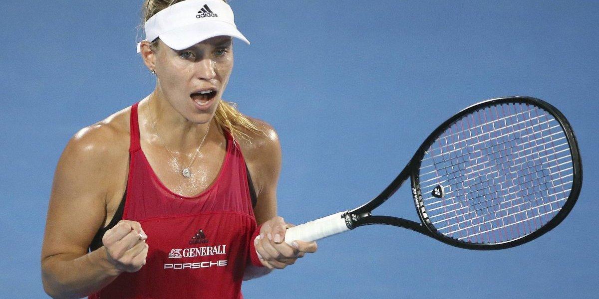 Angelique Kerber avanza a la final en Sydney