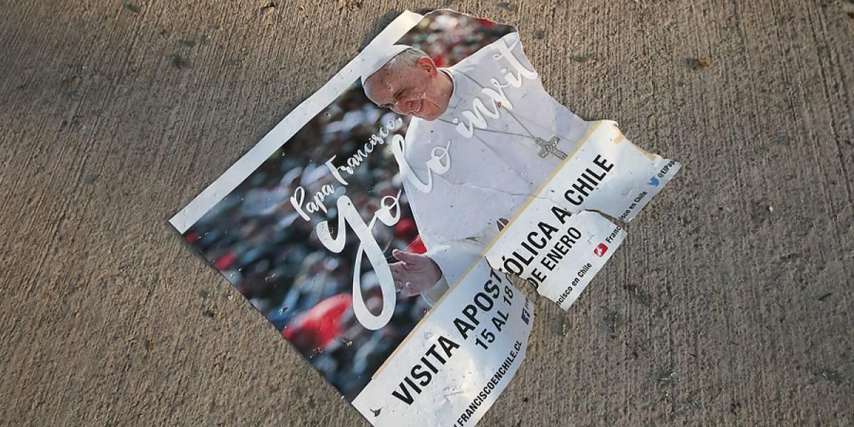 Gobierno presentará querella por atentados a iglesias con amenazas al papa Francisco
