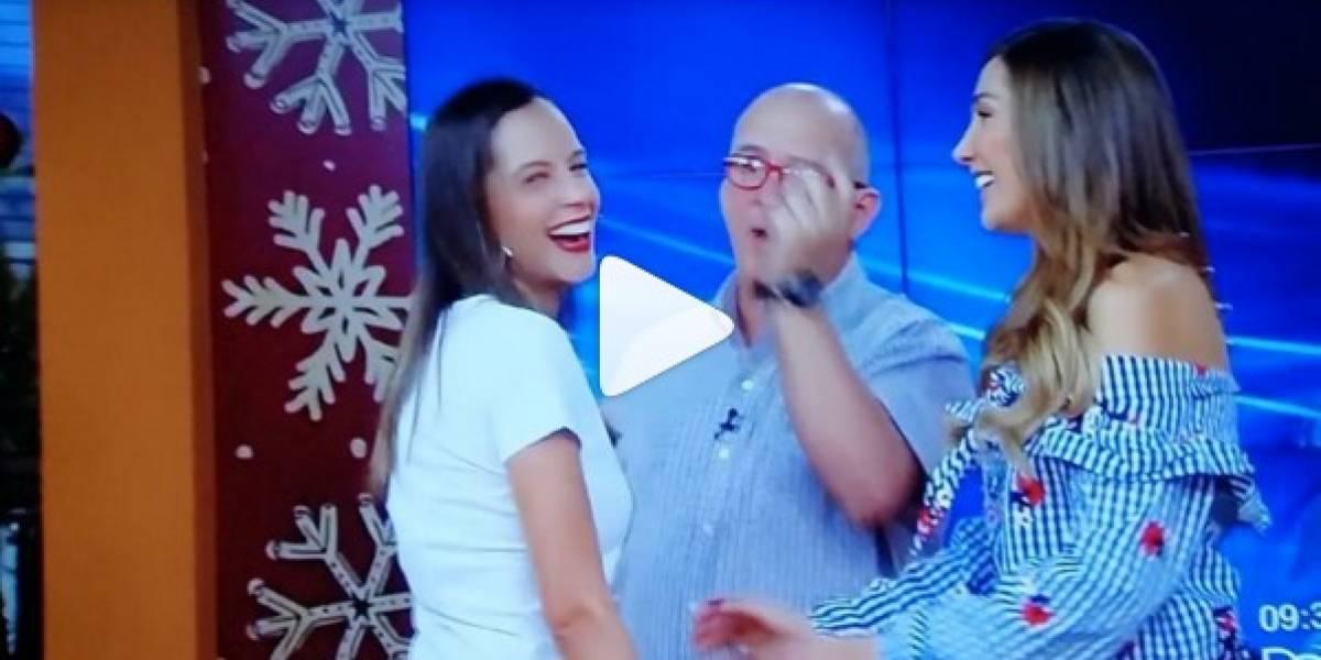 ¡Twerking en vivo! El baile más sensual de Laura Acuña en Muy Buenos Días