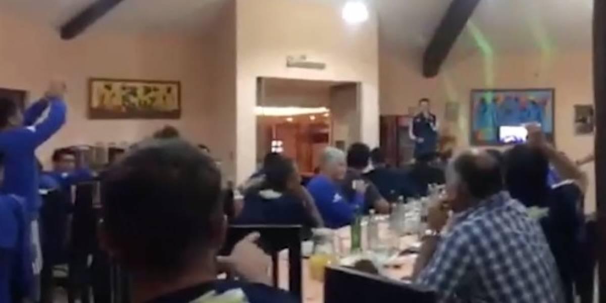 El movido bautizo a los refuerzos de la U en La Serena
