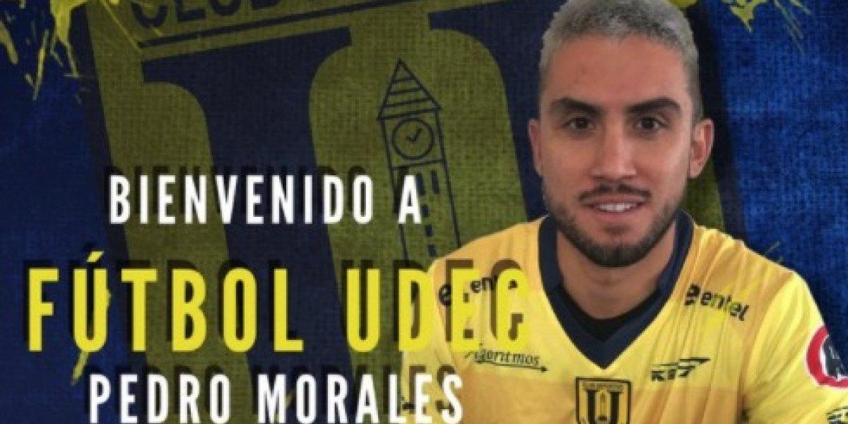 "Pedro Morales no guarda rencor con Colo Colo: ""Se portaron muy bien, salí agradecido del club"""