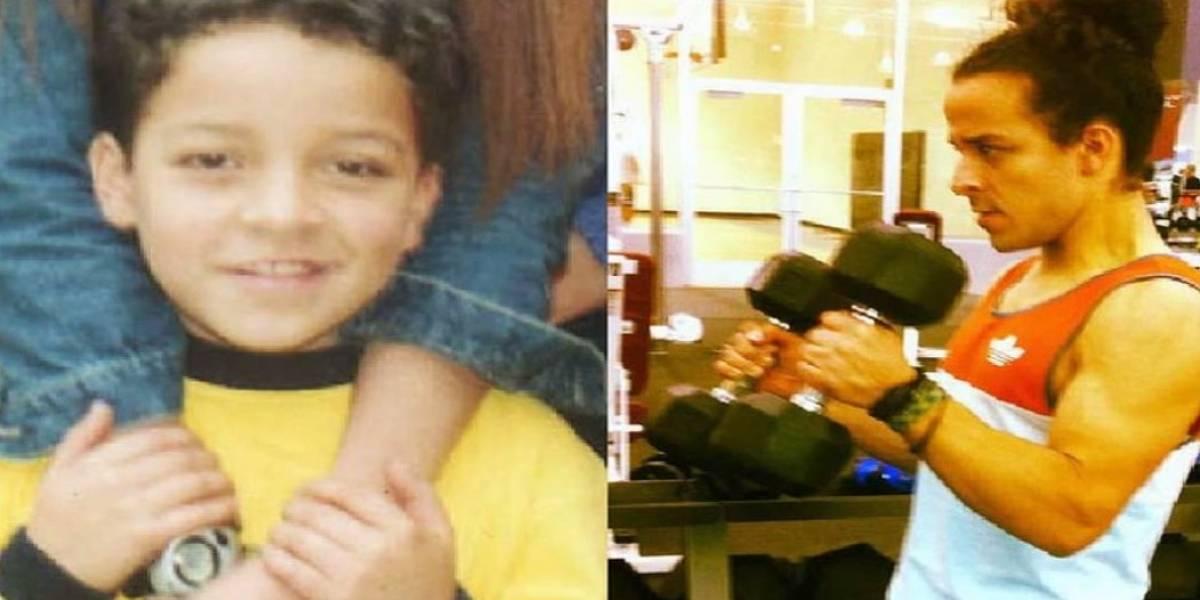 Este es el antes y después de 'Pipe', de Padres e Hijos