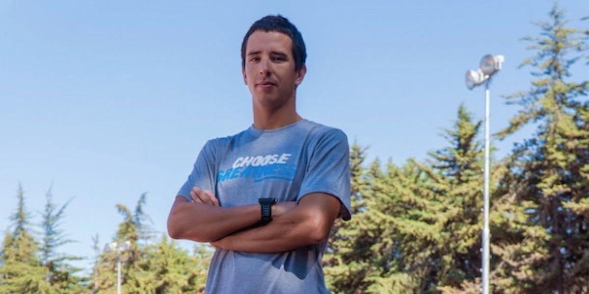 """Gaspar Riveros quiere agrandar la leyenda familiar en el Ironman 70.3 de Pucón: """"Es un privilegio tener una hermana como Bárbara"""""""