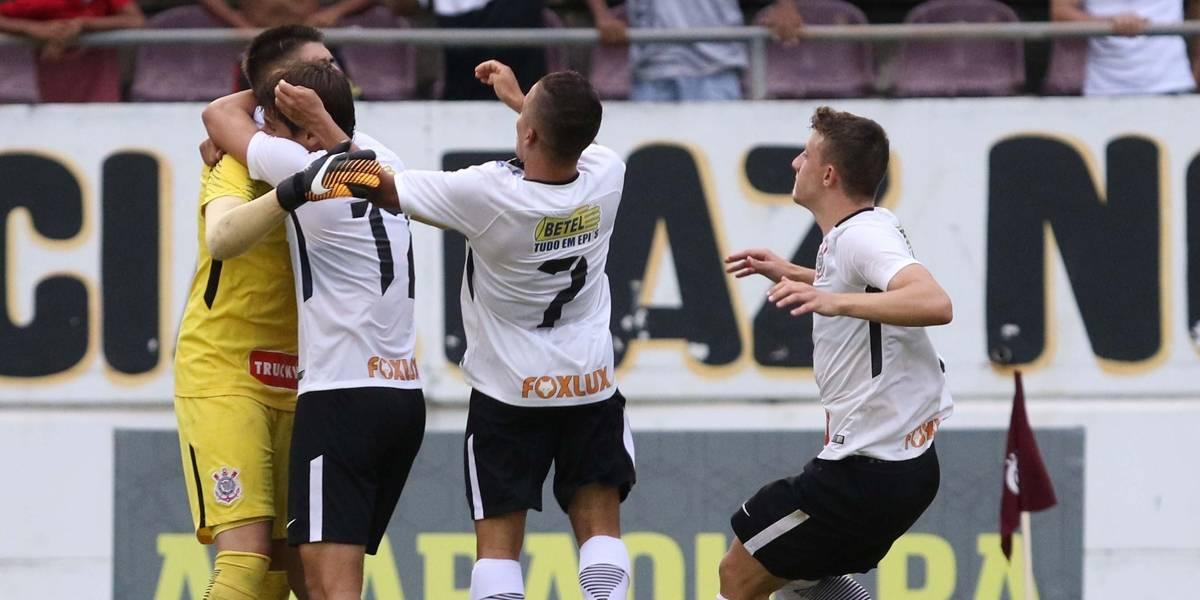 Corinthians sofre, mas vence Sport nos pênaltis e avança na Copa São Paulo