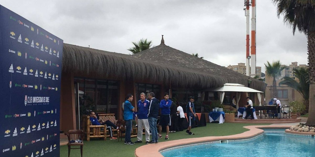 La U celebró el fichaje de Yeferson Soteldo con un asado en La Serena
