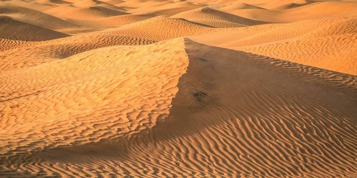Fotos: Así se ve el Sahara nevado desde el espacio