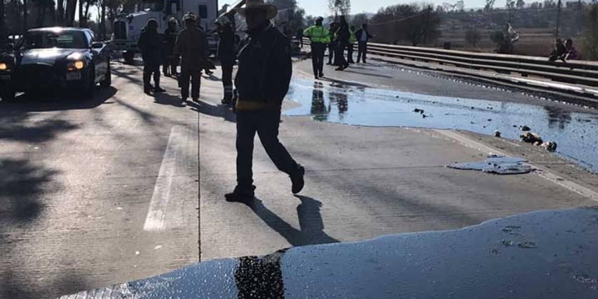 ¿Qué pasó en la Autopista México-Querétaro? Cierran la circulación durante 4 horas