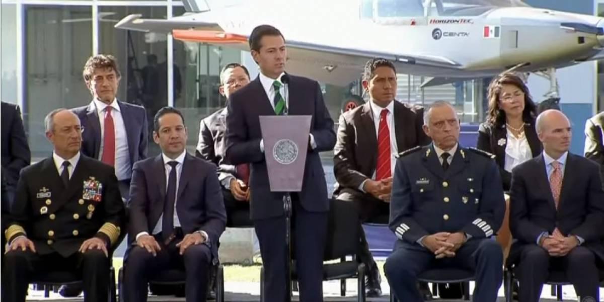 Peña Nieto felicita al Instituto Mexicano del Seguro Social por su 75 aniversario