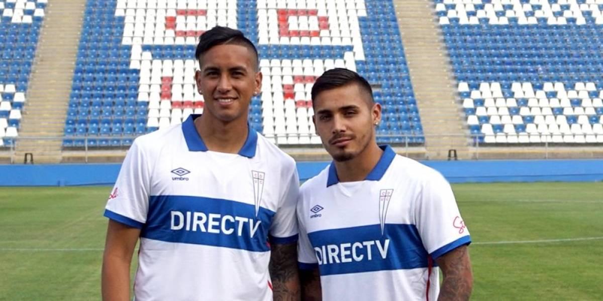 La UC confirmó la llegada de Andrés Vilches y Marcos Bolados como sus primeros refuerzos