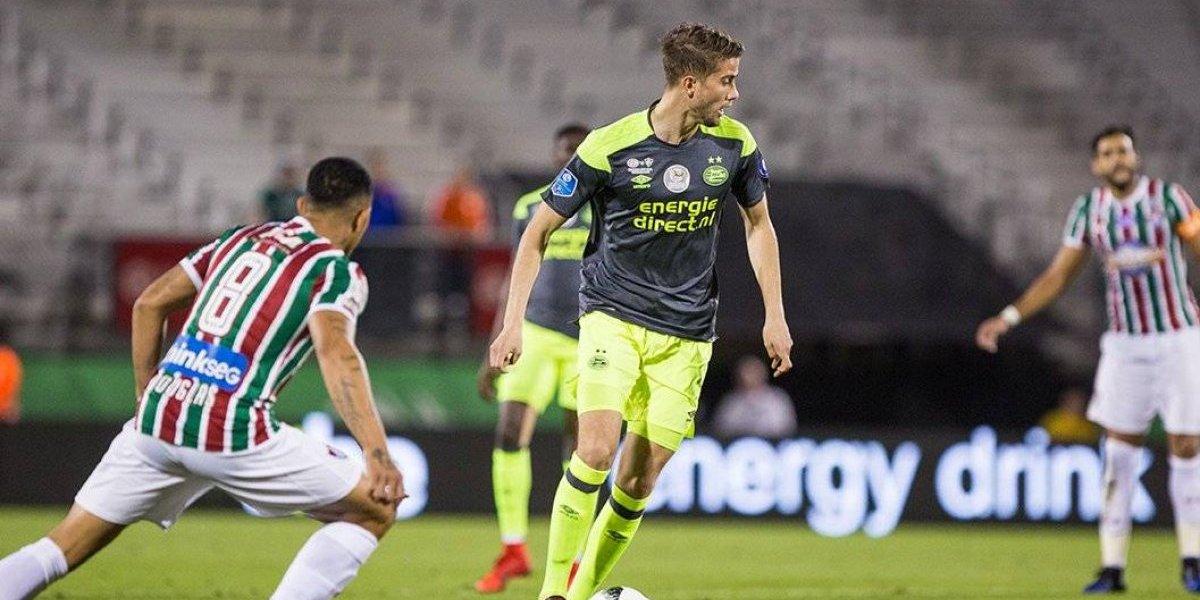 PSV con 'Chucky' de cambio, opaca a Fluminense en tanda de penales