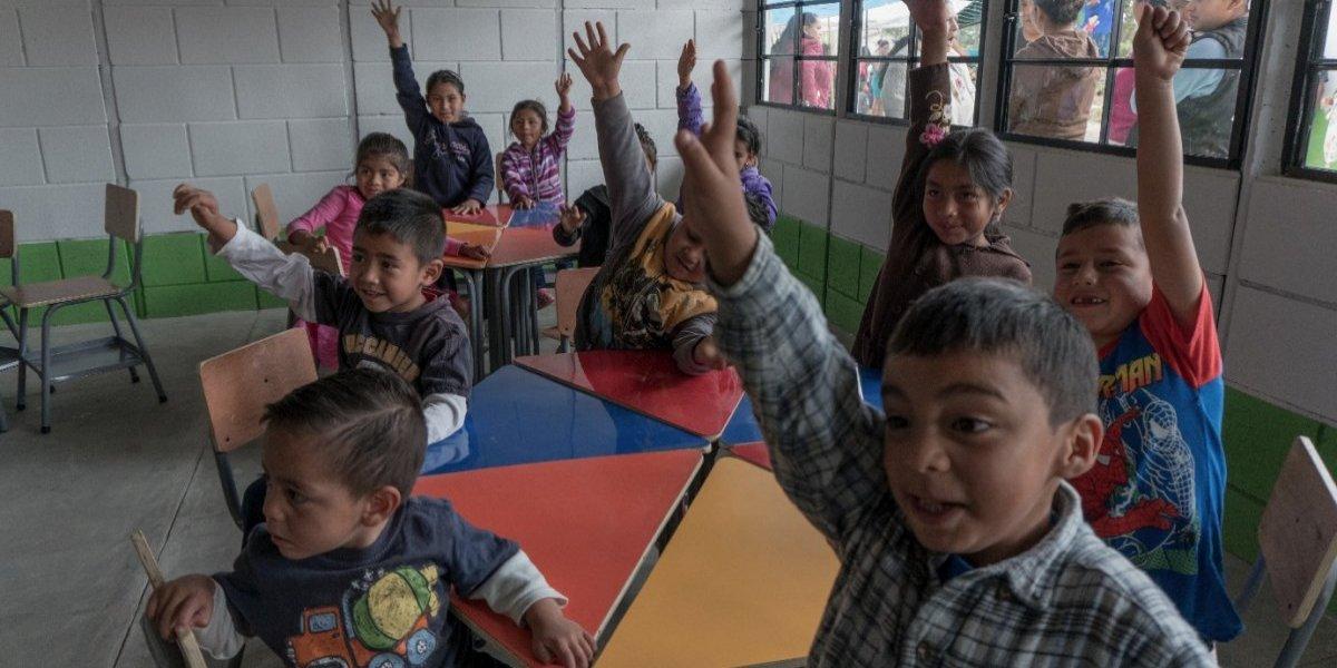 Más de 120 niños se beneficiarán con la inauguración de esta escuela