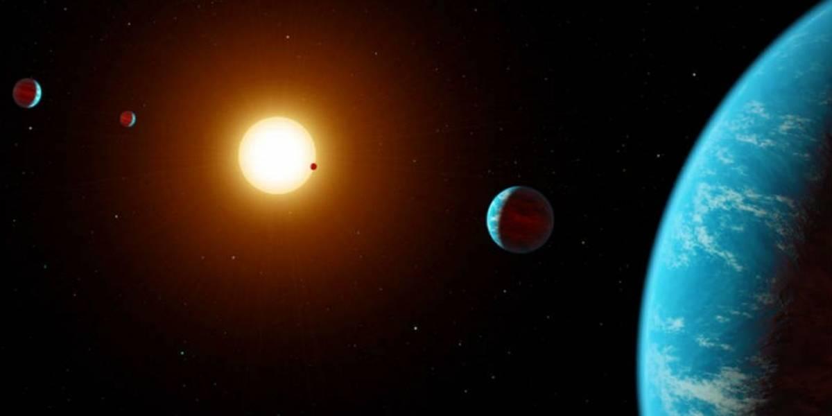 Sistema planetário é encontrado através de pesquisa colaborativa